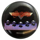 Aerosmith - 'Rocks' Button Badge